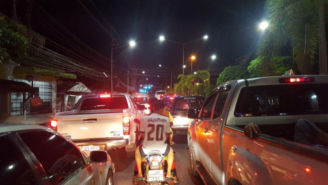 Traffic in Phuket