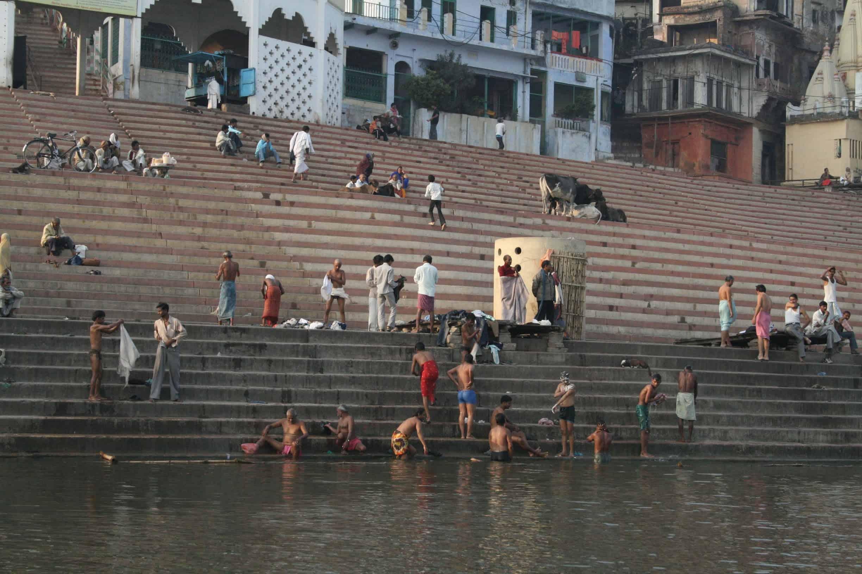 Омовения в Ганге. Варанаси. Индия