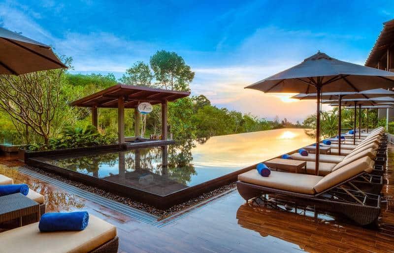 Avista Hideaway. 5 звезд семейный отель c собственным пляжем