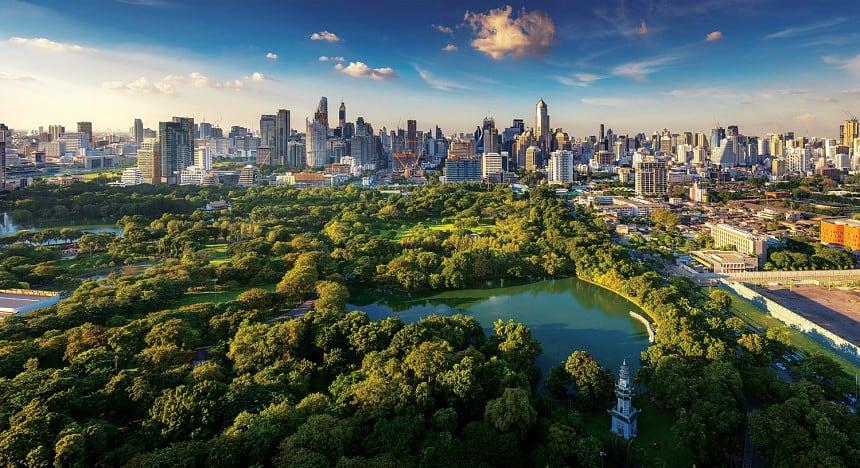 Lumpini Park в Бангкоке