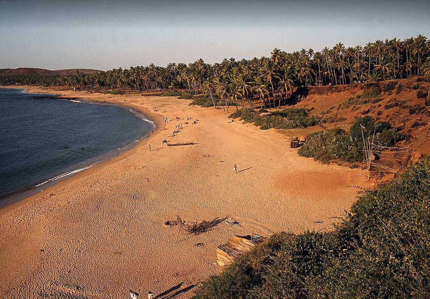 Пляж Анджуна, Гоа, Индия, Декабрь 1979 (Photo by Hauxwell Harland).