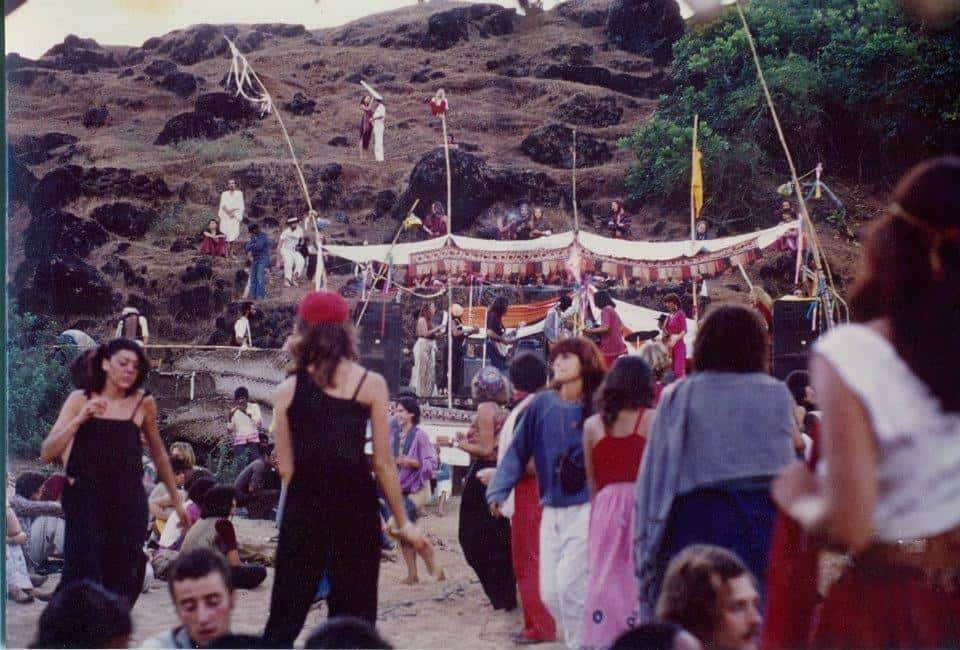 Full Moon party. Goa. Середина 1970х годов