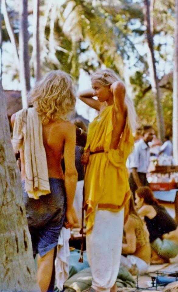 Anjuna Flea market 1975