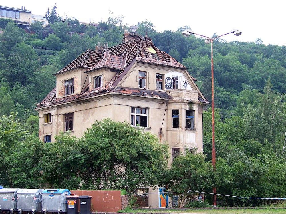 Vila Milada - секретные места в Праге