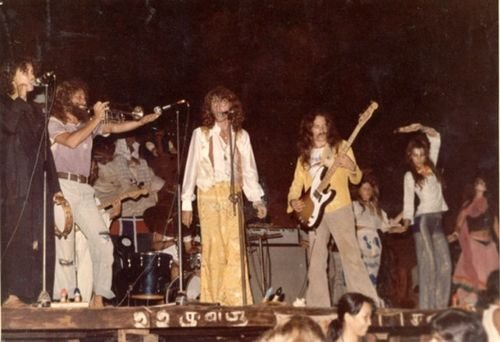 Goa Gil на басу. Анджуна. 1978.
