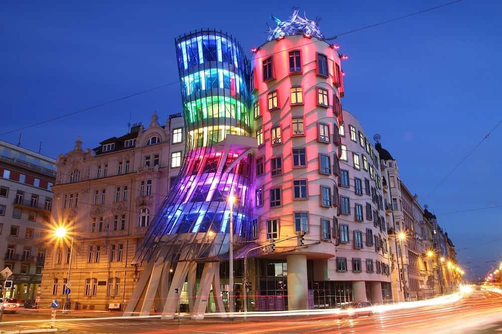 Танцующий дом в Праге - интересные места чешской столицы