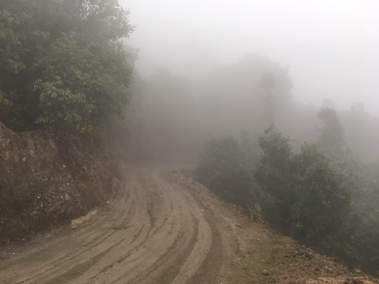 Дорога в Банглар