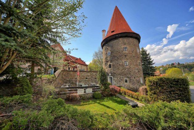 Krumlov Tower. Ceski Krumlov