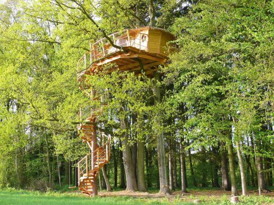 Дом на дереве в Resort Green Valley.Chotýšany