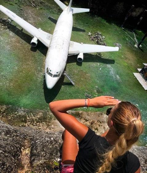 Заброшенный Boeing 737