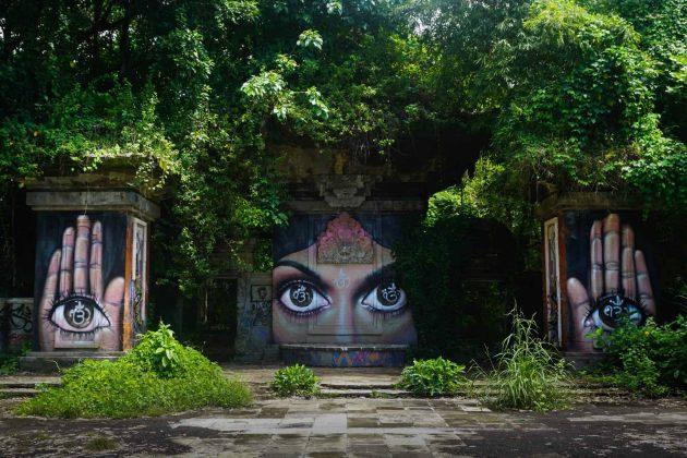 Заброшенный парк Taman Festival