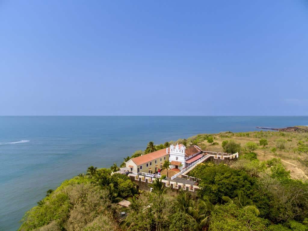 Fort Tiracol - Достопримечательности Гоа