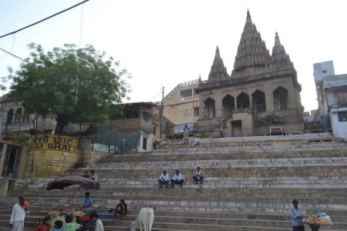 Assi ghat. Varanasi, India