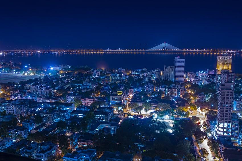 Mumbai-Night-sky
