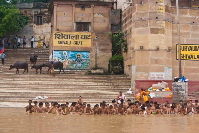 Shivala Ghat. Varanasi, India