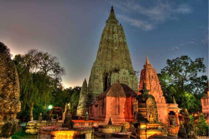 Mahabodhi Temple. Bodh Gaya, Bihar, India