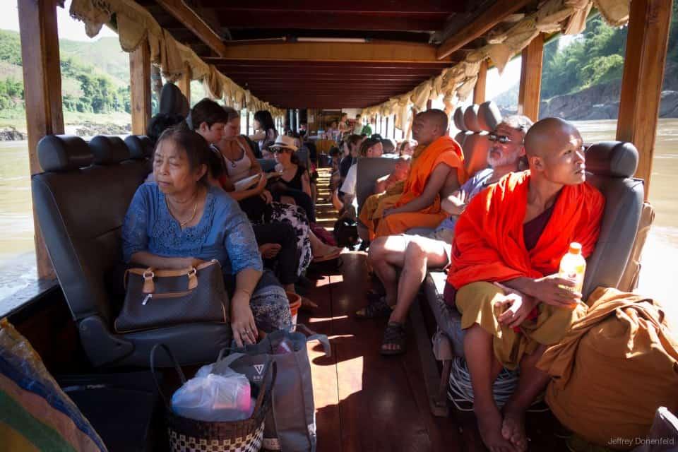 Из Чианг Маи в Луангпхабанг на лодке по реке Меконг