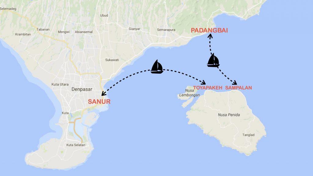 Как добраться с Бали на остров Нуса Пенида
