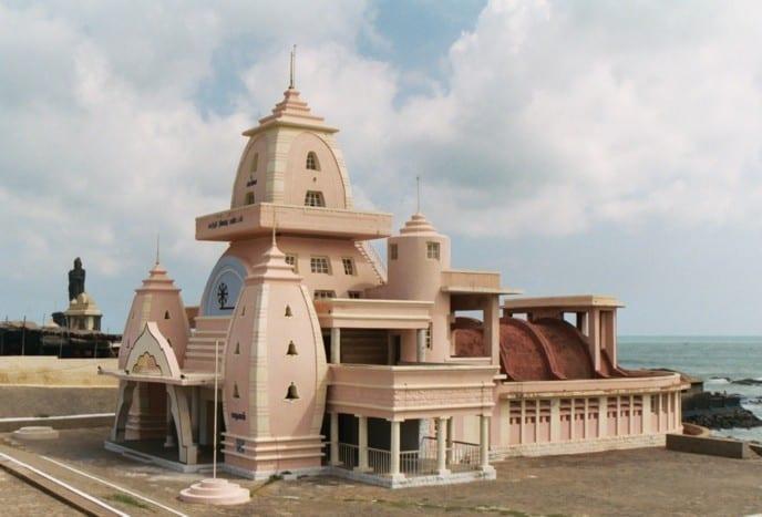 Каньякумари. Мемориал Махатмы Ганди