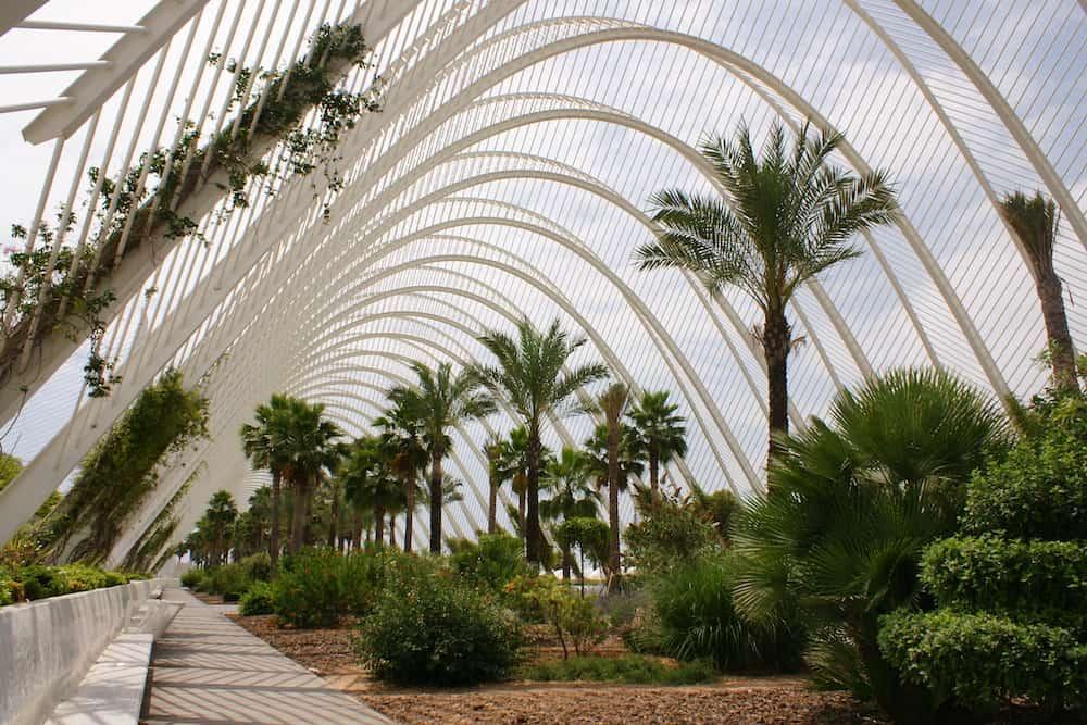 L'Umbracle - галерея растений и скульптур