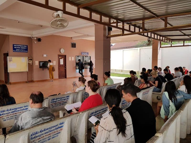Консульство Таиланда во Вьентьяне, Лаос. Получение тайской визы