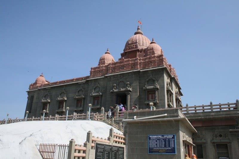 Мемориал Свами Вивекананады в Каньякумари