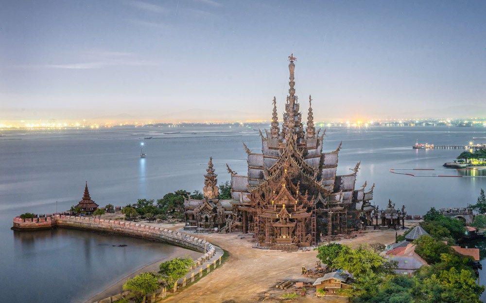 Храм Истины - Деревянный храм в Паттайе - The Sanctuary of Truth