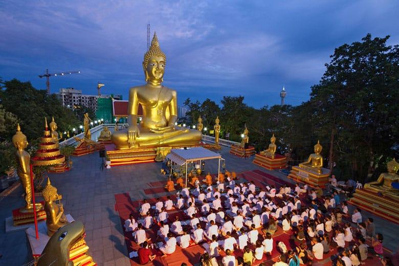 Wat Phra Yai - Храм Большого Будды в Паттайе