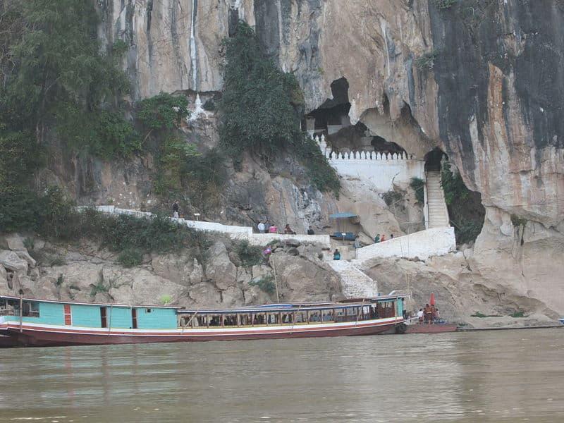 Пещеры Pak Ou. Окрестности Луангпхабанга