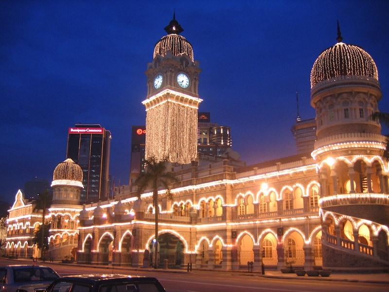 Здание Султана Абдул Самада - Sultan Abdul Samad Building