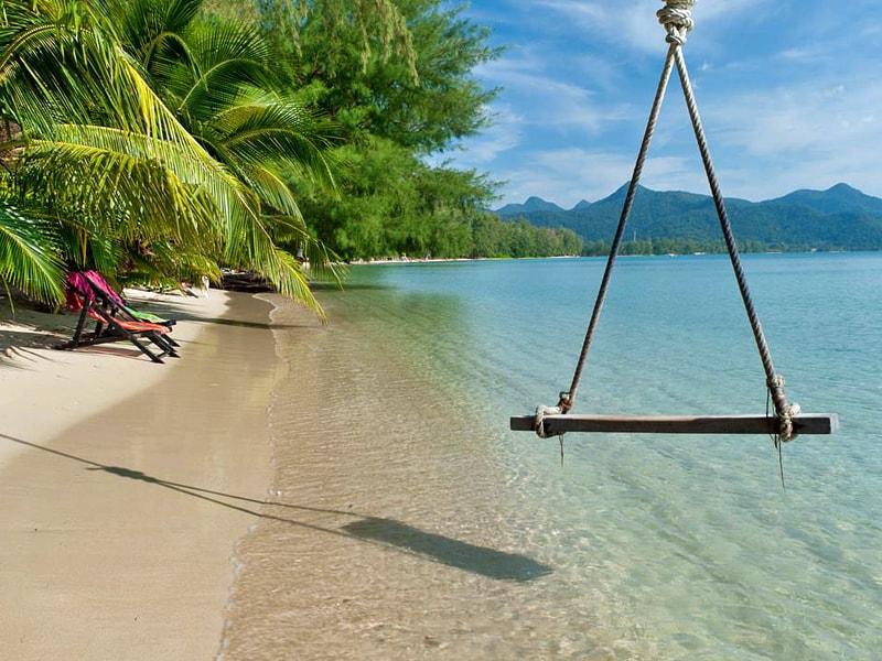 Koh Chang - пляжи острова