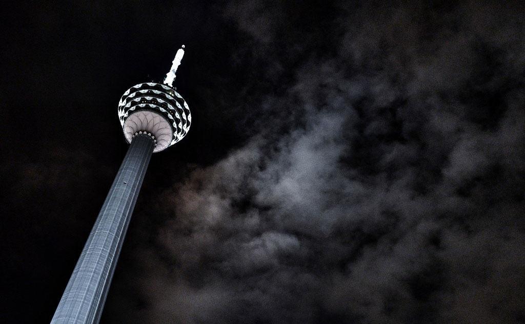 Башня Menara KL Tower - Достопримечательности Куала-Лумпур
