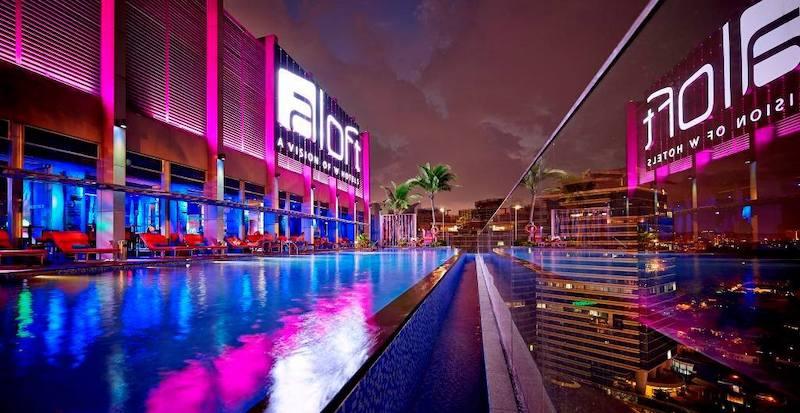 Aloft Kuala Lumpur Sentral - лучшие отели Куала-Лумпур