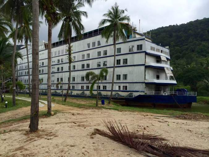Заброшенный корабль-призрак на острове Ко Чанг