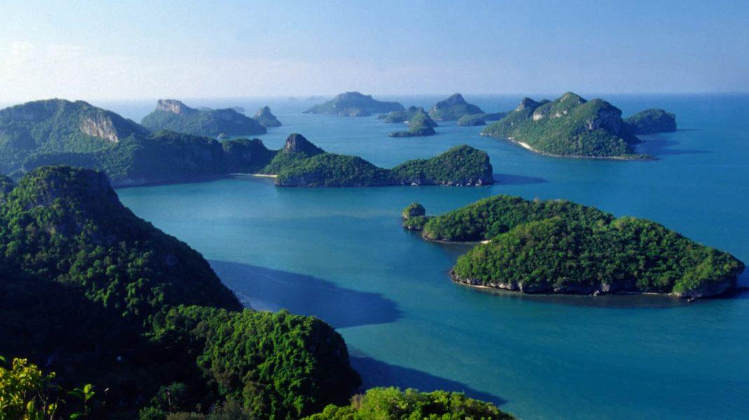 Остров Самуи - Ang Thong marine park