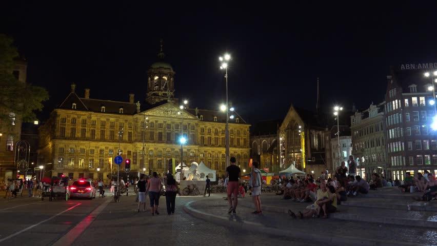Площадь Дам - Dam Square