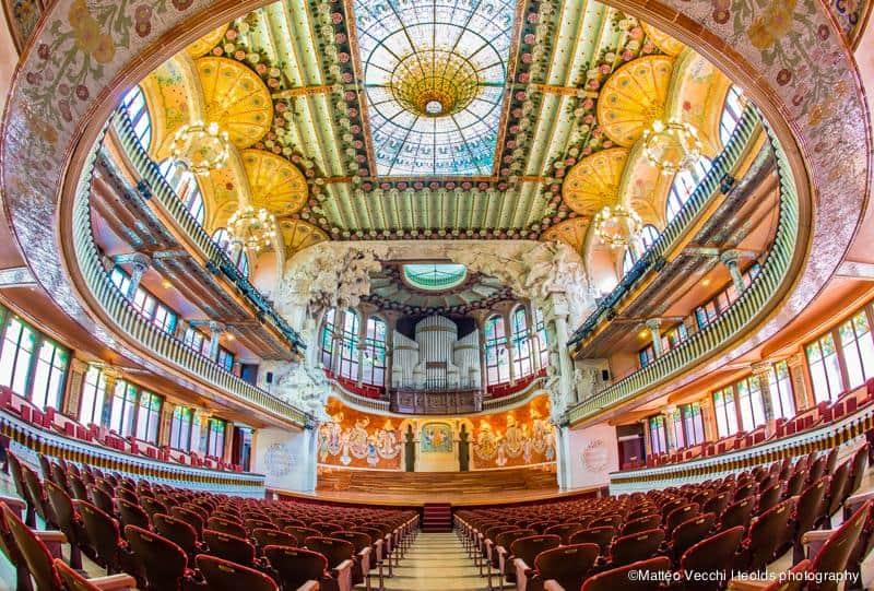 Дворец каталонской музыки - Palau de La Música
