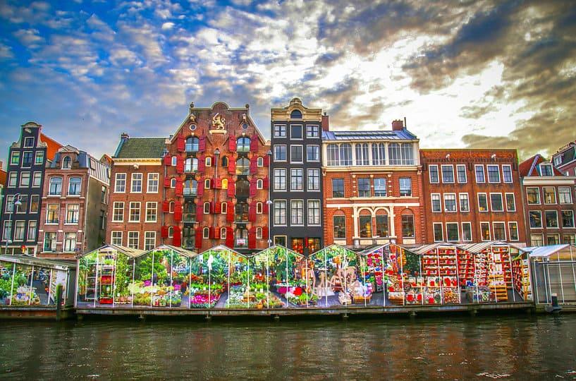 Плавучий цветочный рынок - Flower Market - Достопримечательности Амстердама