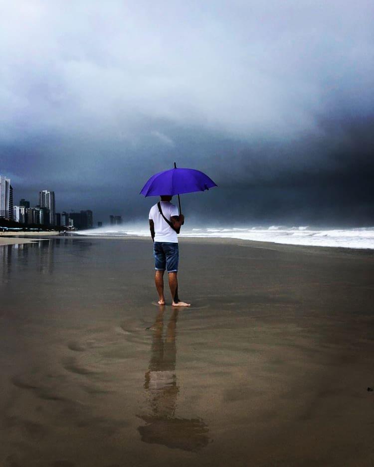 Сезон дождей в Дананге, Вьетнам