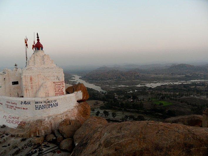 Храм Ханумана - Yantrodharaka (Monkey) Temple