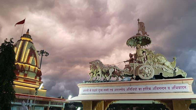 Parmarth Niketan -самый крупный ашрам в Ришикеше