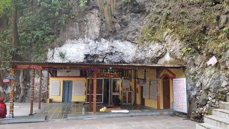 Пещера Васиштхи неподалеку от Ришикеша