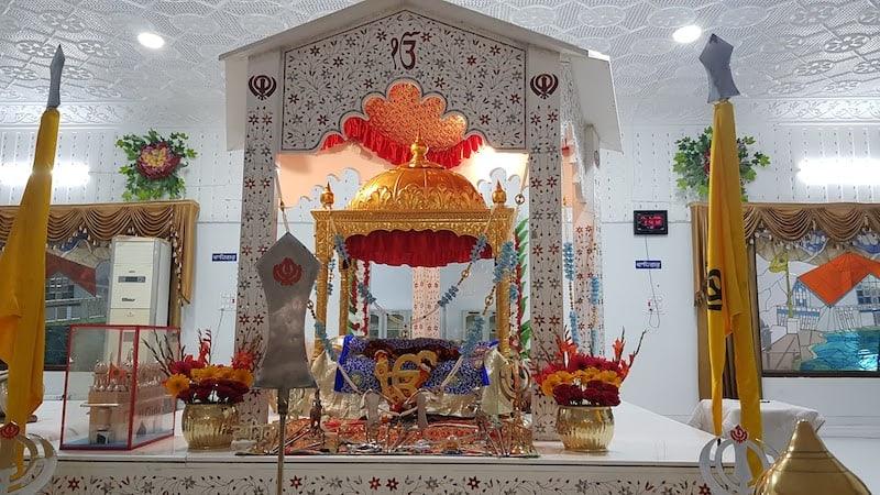 Сикхская Гурудвара в Ришикеше