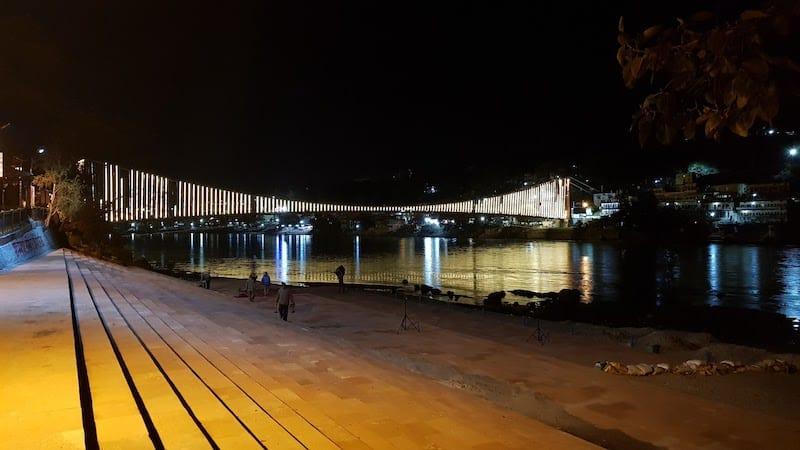 Мост Рам Джула в Ришикеше